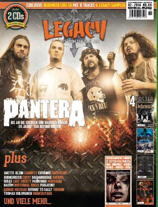 CD Review im Legacy Magazine 89